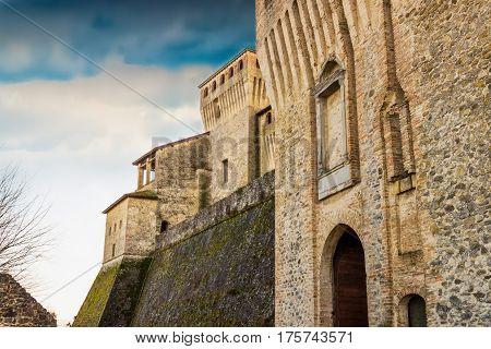 Torrechiara Castle, Emilia-romagna Province, Italy