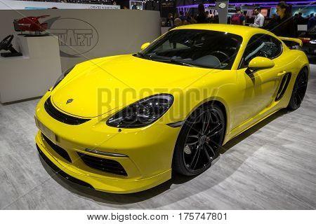 2017 Porsche 718 Cayman S Techart Sports Car