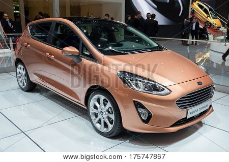 Ford Fiesta Titanium Car