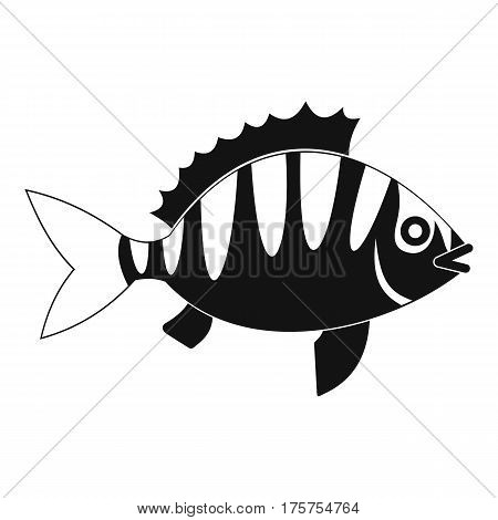 Perch icon. Simple illustration of perch vector icon for web