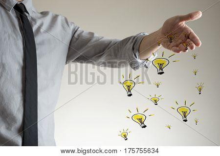 Spreading Ideas Concept