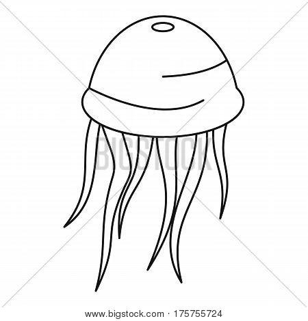Medusa icon. Outline illustration of medusa vector icon for web