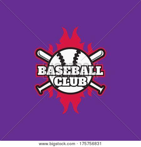 Baseball vintage emblems labels badges Baseball logo team