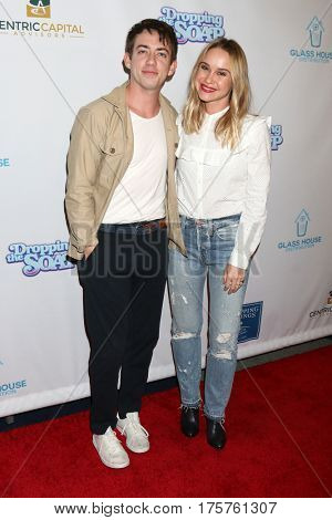 LOS ANGELES - MAR 7:  Kevin McHale, Becca Tobin at the