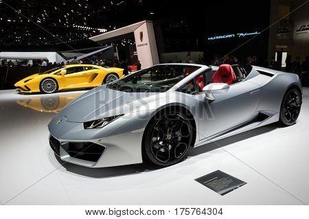 Lamborghini Huracan Rwd Spyder And Aventador S Sports Cars