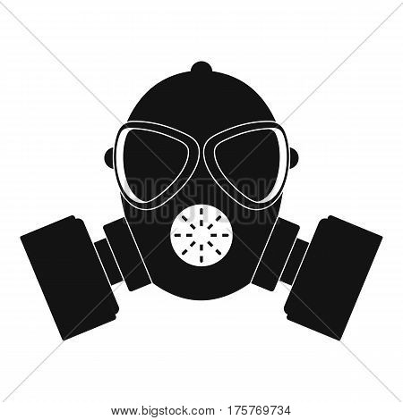 Respirator icon. Simple illustration of respirator vector icon for web