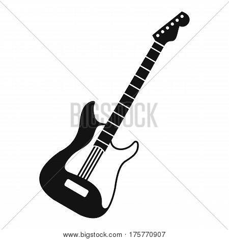 Acoustic guitar icon. Simple illustration of acoustic guitar vector icon for web