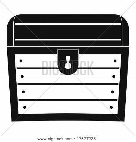 Chest icon. Simple illustration of chest vector icon for web