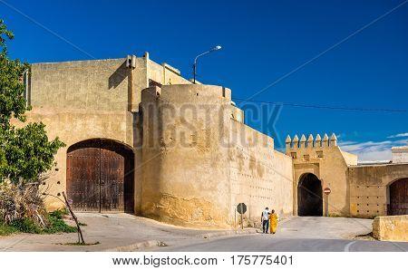 Bab Lahdid, a gate of Fes - Morocco