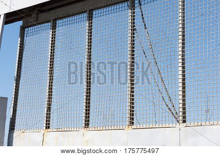 Fence Erected To Keep People Out Adding