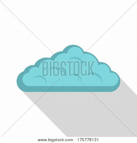 Wet cloud icon. Flat illustration of wet cloud vector icon for web