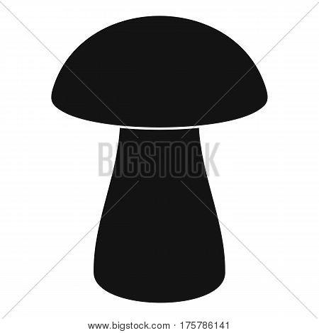 Fungus boletus icon. Simple illustration of fungus boletus vector icon for web