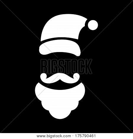 Xmas costume icon. Simple illustration of xmas costume vector icon for web