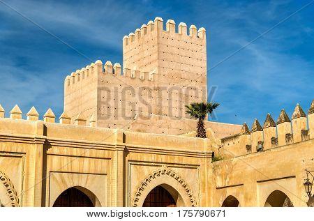 Bab Dekkakin, a gate of Fes - Morocco