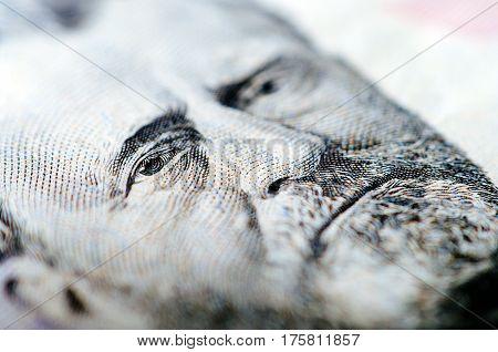 Fifty Dollar Bill - Macro Nb. 13