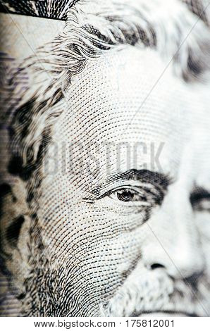 Fifty Dollar Bill - Macro Nb. 9