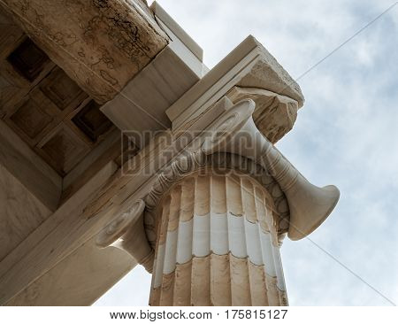 part of the Parthenon big marble column