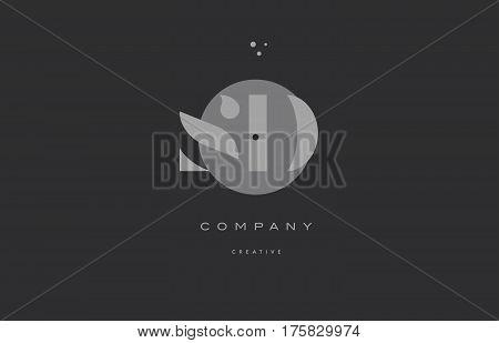 Sd S D  Grey Modern Alphabet Company Letter Logo Icon