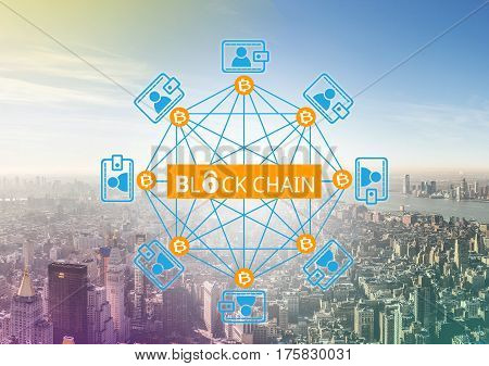 Block chain network a cryptographically secured chain