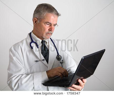 Doctor Entering Information