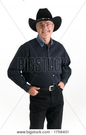 Cowboy Smiling