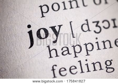 Fake Dictionary Dictionary definition of the word joy.