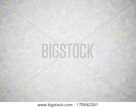 Abstract illusion of  pearl. Abstract background with iridescent mesh gradient. Colorful noise, special effect. Colorful shades. Visual illusion of oil paintings. Vector EPS10