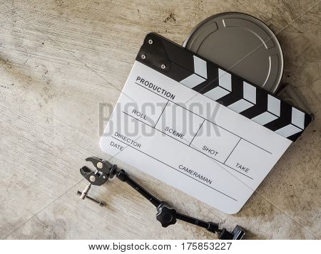 Film slate movie tool  image for your mind