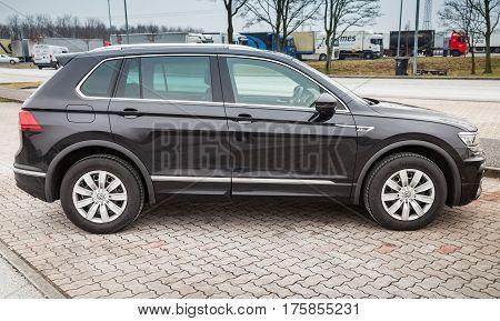 Volkswagen Tiguan, 4X4 R-line 2017