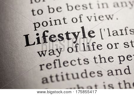 Fake Dictionary Dictionary definition of the word lifestyle.