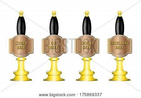 4 Beer Pumps