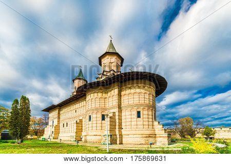 Galata church monastery in Iasi Moldavia Romania.
