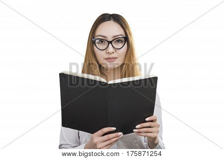 Serious Woman With A Book