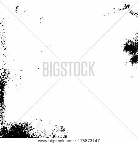 Abstract grunge painted vector texture. Scratch urban background. Splatter paint texture. Distress grunge background. Scratch grain noise stamp.