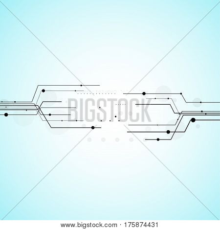 Geometric vector background for business or science presentation.