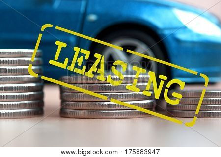 Leasing - a form of lending when you purchase expensive goods