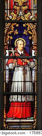 Stained Glass - Saint Carolus Borromeus
