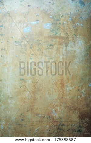 Abstract old texture wall of stained stucco surface grunge interior cement mural on beige plastered background