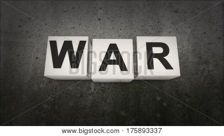 War. The concept of understanding the world war