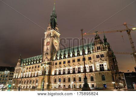 The City Hall Hamburg