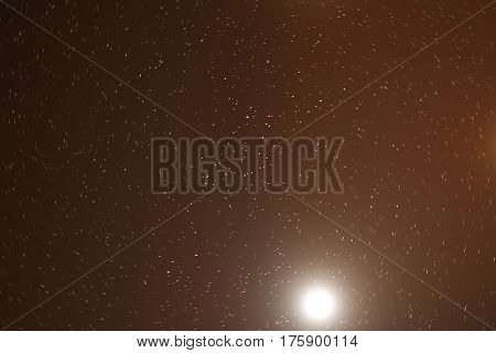 Starry outer space background texture with nebula. Colorful starry night sky outer space background, 3d rendering
