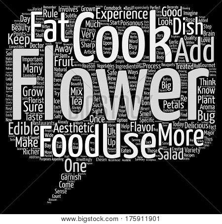 A Flower A Day Keeps The Doctor Away Word Cloud Concept Text Background