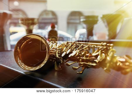 Piece Of Alto Saxophone