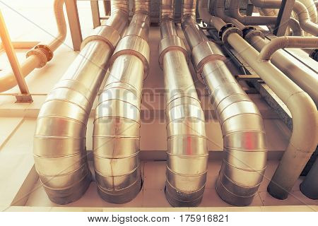 Duct pipe or pipeline of air conditioning system