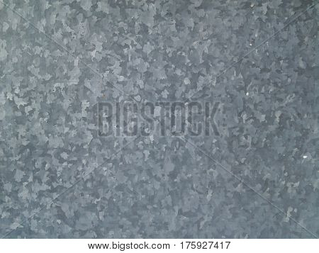 intinitely long and high wall of galvanized metal