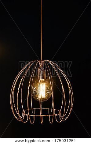 Light Fixture With A Lamp