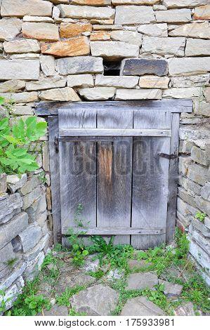 Ancient Barn Door