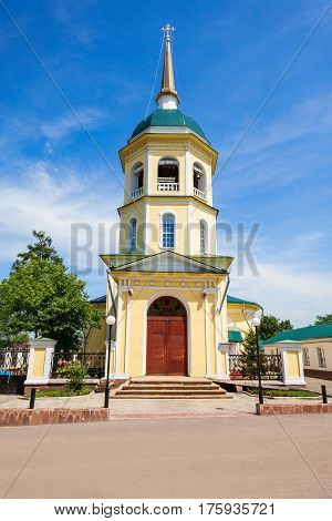 Transfiguration Church In Irkutsk