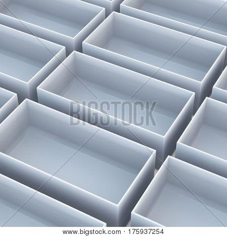 White Tray High Angle