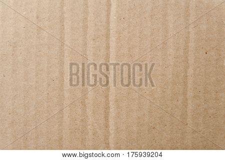ight brown cardboard - - grunge texture